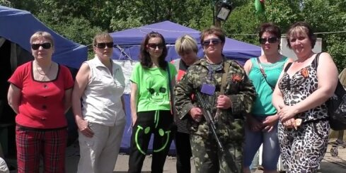 Ukrainas austrumos darbojas prokrievisko separātistu Sieviešu bataljons