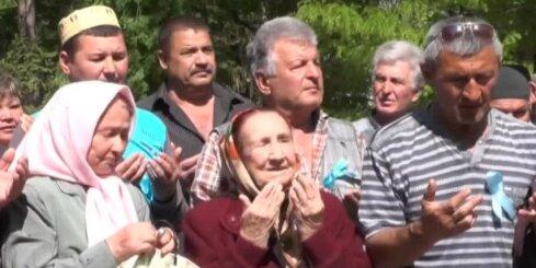 Krimas tatāri piemin Staļina deportāciju gadadienu