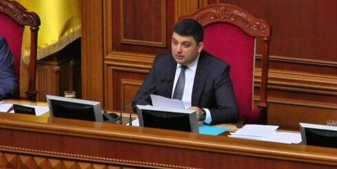 Ukrainas parlaments apstiprina jauno premjeru