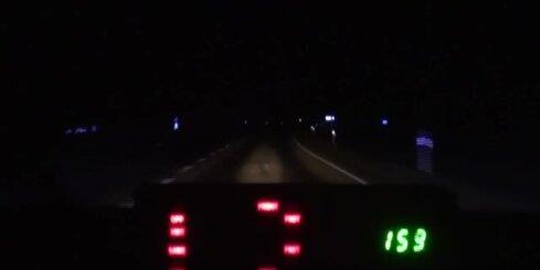 Igaunijā policija dzenas pakaļ degvielas zaglim