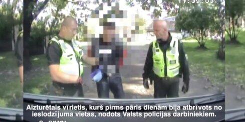 Policija Rīgā noķer maka zagli