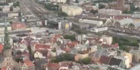 Rīgā atklāj pirmo heliportu