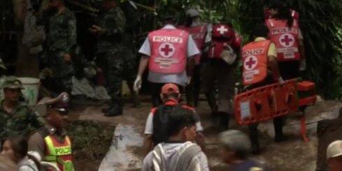 Taizemeiši gatavojas glābt alā iesprostotos zēnus