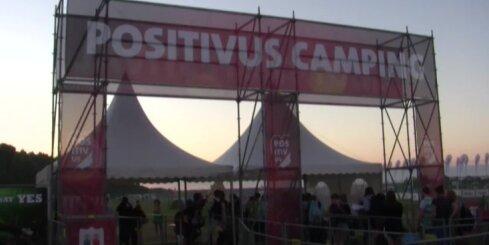 'Positivus' festivāls - ceturtdien telšu pilsētiņa jau pilna ar ļaudīm