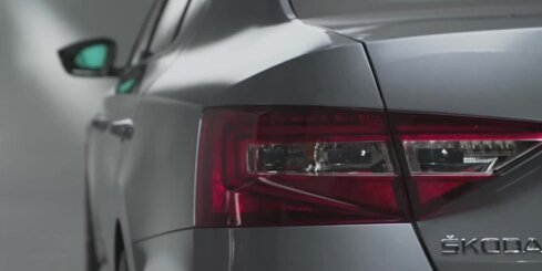 Jaunais 'Škoda Superb' modelis