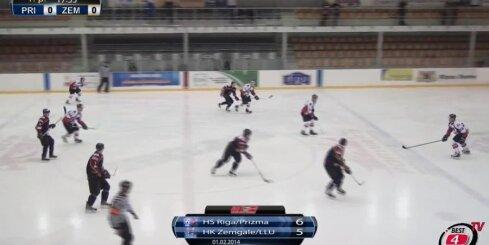 'HS Rīga/Prizma' - 'Zemgale/LLU' spēles vārtu guvumi