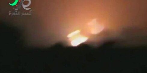 Uzlidojumos Sīrijā dots trieciens naftas pārstrādes uzņēmumiem
