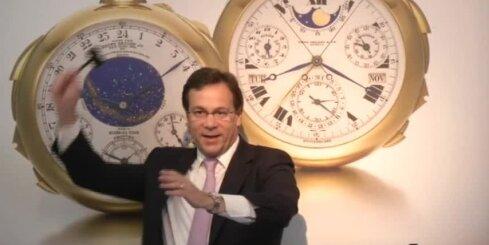 Par 21,3 miljoniem ASV dolāru pārdod pasaulē dārgāko pulksteni