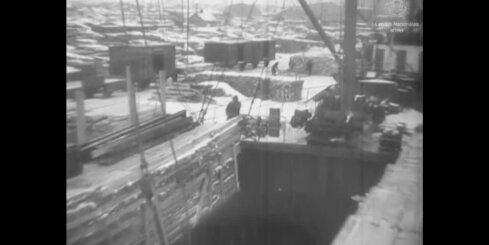 Arhīva video: Rīgas osta 1938. gadā