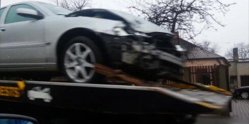 Autoavārija Pļavniekos