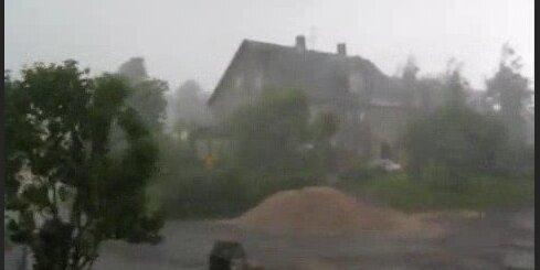 Vētras epicentrā Madonā