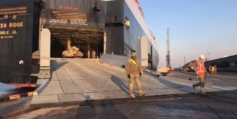 """Rīgas ostā ierodas nākamā ASV operācijas """"Atlantic Resolve"""" rotācija"""