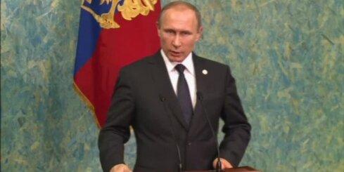 Putins uzaicina britu ekspertus uz Turcijas notriektās lidmašīnas 'melnās kastes' analīzi
