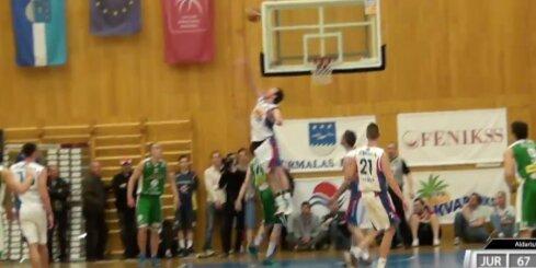'Aldaris Latvijas Basketbola Līga' - 'Jūrmala/Fēnikss' - 'BK Valmiera' - 21. aprīļa spēle