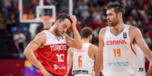 Spānijas basketbolisti no 'Eurobasket 2017' izslēdz mājinieci Turciju