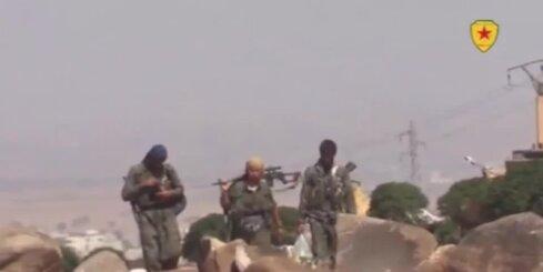 Kurdi sāk uzbrukumu 'Islāma valstij'