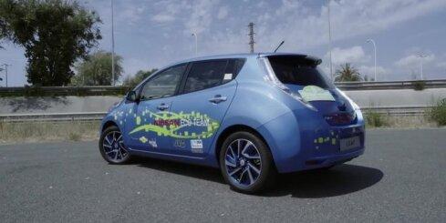 'Nissan Leaf' ar 48 kWh akumulatoru