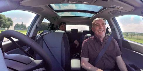 'Hyundai' automobilis, ko iespējams vadīt ar domu spēku
