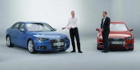 Jaunais 'Audi A4' modelis