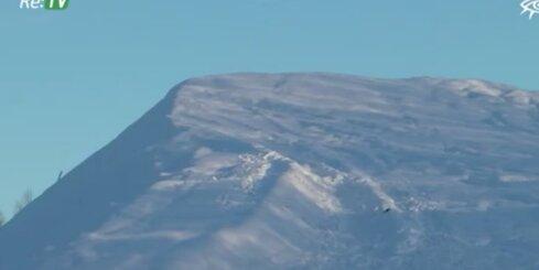 Stendē izveido slēpošanas kalnu