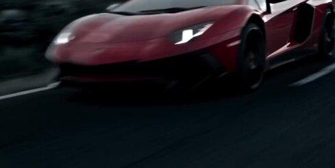 Itāliešu superauto 'Lamborghini Aventador LP750-4 Super Veloce'