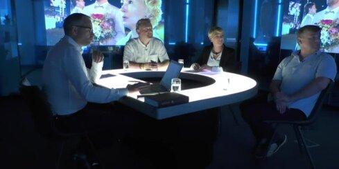 'Delfi TV ar Jāni Domburu' – atbild Dziesmu un Deju svētku komanda. Pilns ieraksts