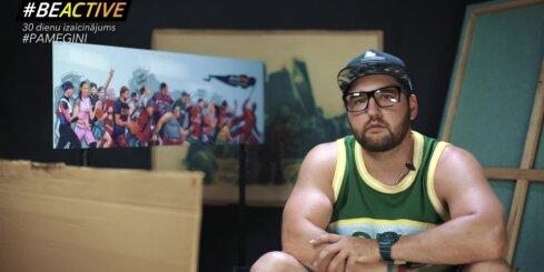 Sporta mākslinieks Vladislavs Lakše: 'Sports pieder tautai!'