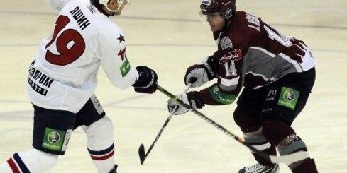 Rīgas 'Dinamo' piedzīvo sāpīgu zaudējumu Liepājā