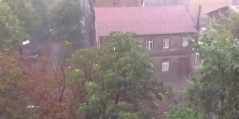 Aculiecinieka video: Krusa Rīgā