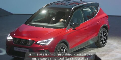 SEAT prezentējis savu jaunāko apvidnieku 'Arona'