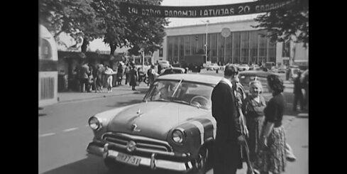 Arhīva video: Kā Rīgas Centrālā dzelzceļa stacijas ēka izskatījās 1960. gadā