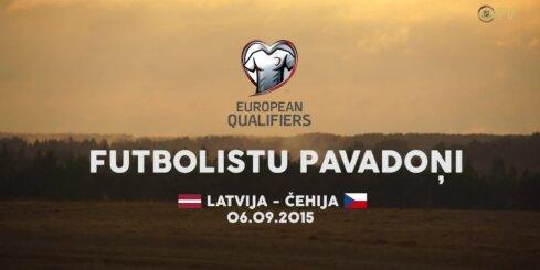Stāsts par Latvijas un Čehijas futbola izlašu pavadoņiem