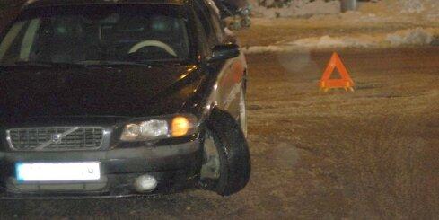 Āgenskalna bedrē tūrists no Spānijas nolauzis auto riteni