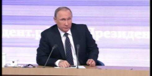 Putins atzīst, ka Krievijas cilvēki risina militārus jautājumus Donbasā