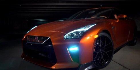 'Nissan' kārtējo reizi modernizējis 'GT-R' superauto
