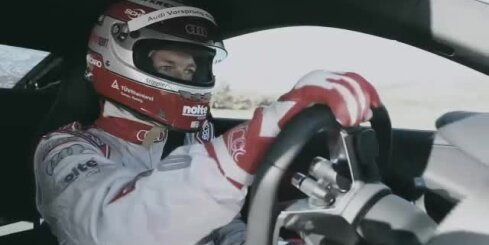 Jaunais 'Audi R8' superauto
