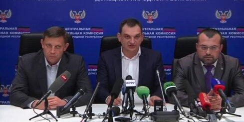 ES nosoda Donbasa separātistu 'vēlēšanas'
