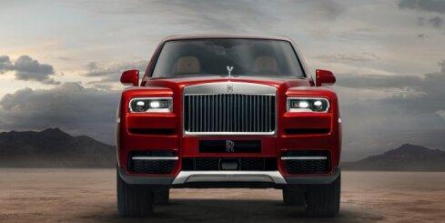 Jaunais 'Rolls-Royce' pilnpiedziņas modelis 'Cullinan'