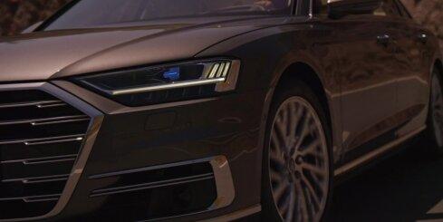 Jaunās paaudzes 'Audi A8' limuzīns