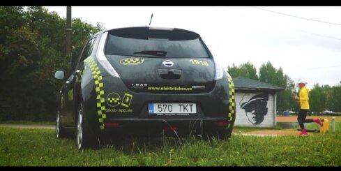 Igaunijas taksometru uzņēmums stāsta par pieredzi ar 'Nissan Leaf' elektromobiļiem