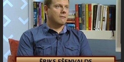 Komponists Ēriks Ešenvalds. Video intervija