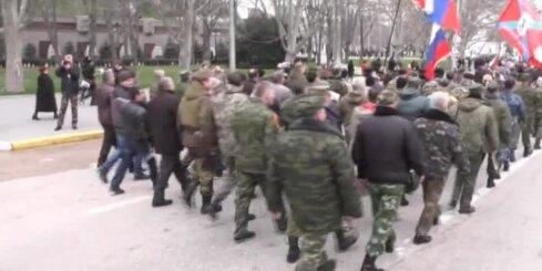Krimā svin okupācijas otro gadadienu