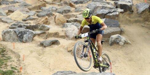 Riodežaneiro vasaras olimpisko spēļu rezultāti kalnu riteņbraukšanas krosā (20.08.2016)