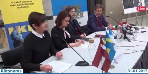 Paraksta sadarbības līgumu ar IKEA īpašnieku