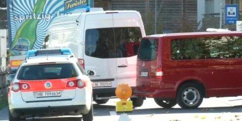 Šveicē apšaudē pie stacijas trīs bojāgājušie