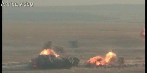 Krievija veikusi pirmo gaisa triecienu Sīrijā