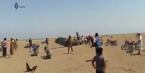 Sīrijā notriec Krievijas helikopteru