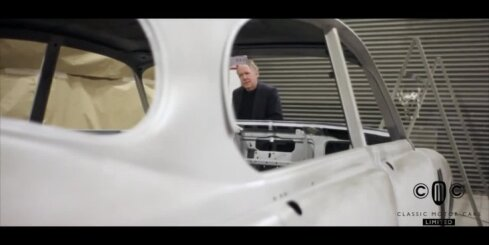 'Jaguar' dizaineris modernizējis klasisko 'Mark 2' sedanu