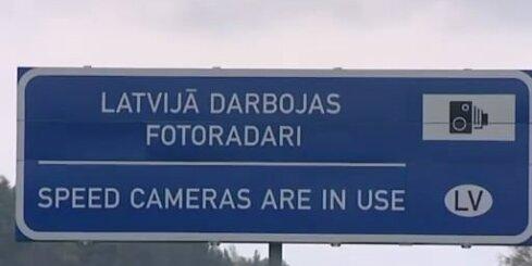 Kādās ātruma robežās 'ķers' fotoradari?