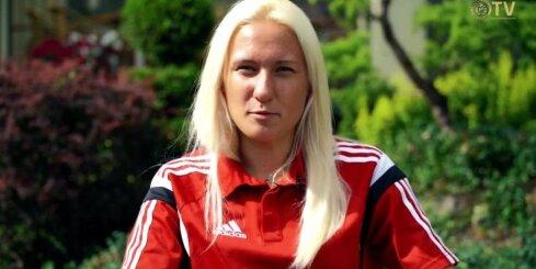 Iepazīsti mūsu futbolistes - Anastasija Ročāne